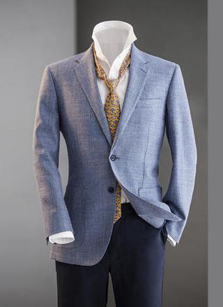 男士西装商务绅士